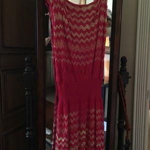 M Missoni Knit Sleeveless Dress. Size 8